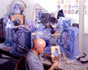 John Newman is Artist-in-Residence at the Chinati Foundation