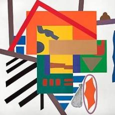 Shirley Jaffe exhibition reviewed on Artcritical.com