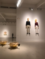 Stephan Balkenhol and Secundino Hernández exhibits at Centro de Arte Contemporáneo de Málaga