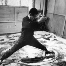 Art World Rediscovers Kazuo Shiraga