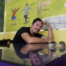Lunch with Eamon Ore-Giron: For the Peruvian American artist, tiny Intiraymi offers the taste and feel of Peru
