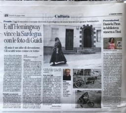 Guido Guidi reçoit le prix Hemingway