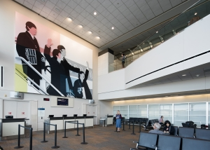 Kota Ezawa Commission at San Francisco International Airport