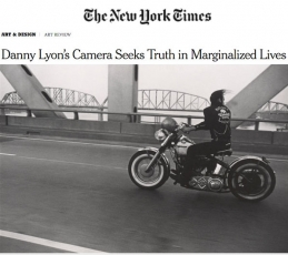 Danny Lyon in The New York Times