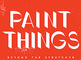 Sarah Braman and Jessica Stockholder in Paint Things at the DeCordova Museum