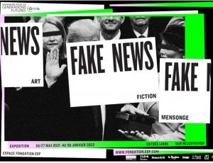 Karl Haendel in Fake News: Art, Fiction, Mensonge at the EDF Group Foundation