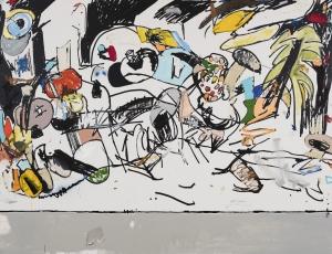 Eddie Martinez at Andersen's Contemporary