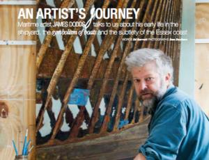 James Dodds in Coast Magazine