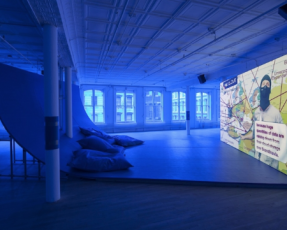 HITO STEYERL AT THE INSTITUTE OF CONTEMPORARY ART/BOSTON