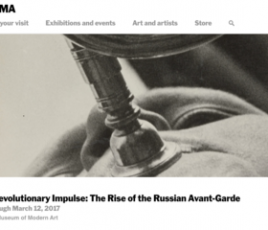 A Revolutionary Impulse: The Rise of the Russian Avant-Garde