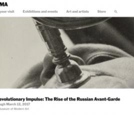 A Revolutionary Impulse: The Rise of the Russian Avant-Garde