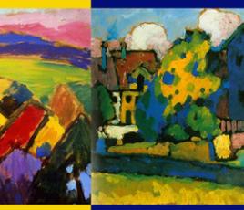 Blaues Haus und Gelber Klang. Wassily Kandinsky and Alexej Jawlensky in Murnau