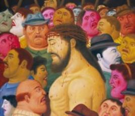 Botero en Chile: Viacrucis. La Pasion de Cristo