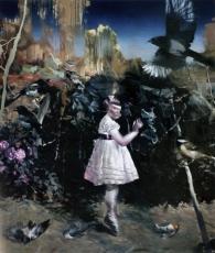 Lars Elling maler virtuost mellem virkelighed og drøm