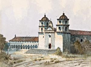 Edwin Deakin's 21 Missions in Watercolor