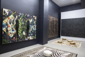 Rashid Johnson, Aaron Curry, and Jennifer Guidi