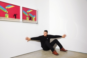 Robin Rhode Explores 'The Geometry of Colour' at Lehmann Maupin