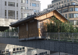 미술가 서도호, 런던시와 공공미술 전시 작업…한옥 형태 작품 설치