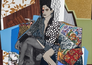 """The Impetus for Collage"": A conversation with Mickalene Thomas and Racquel Chevremont"