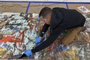Disassembling and Re-constructing: Predicting the Possibility of the Painting
