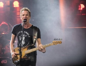 Sting's Concert in Memory of James Foley By Dominic Pattern
