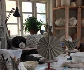 Inside the Artist Studio: Barbro Åberg