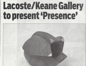 Concord Journal Features 'Presence'