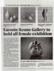 Concord Journal features Breaking The Ceiling Exhibition