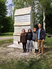 Lacoste/Keane Gallery held a public talk on Nina Hole