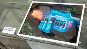 DAVID LACHAPELLE PHOTOGRAPHY INSTALLATION FOR YEAR OF THE BUS