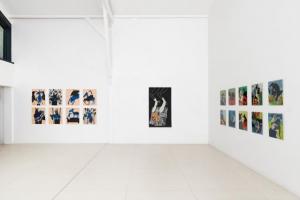 Summer Wheat at Galerie Anne de Villepoix in Paris