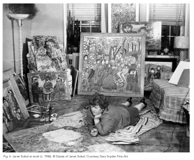 Janet Sobel: Primitive Modern and the Origins of Abstract Expressionism