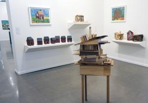 Beverly Buchanan House Sculptures Charm at Independent Art Fair