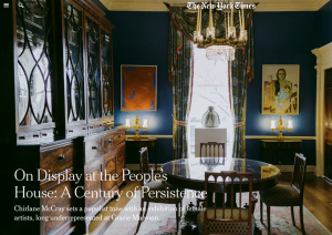 On Display at the People's House: A Century of Persistence