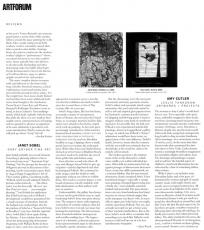 Artforum reviews: Janet Sobel