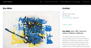 "Dan Miller in ""Under Erasure"" at Pierogi Gallery"