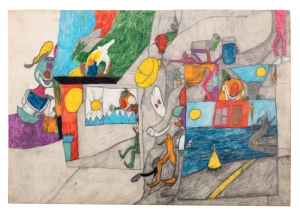 The Joys and Terrors of an Outsider Artist