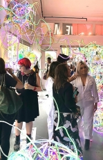 """Adela Andea creates installation for Steve Madden Pop Up, """"The Factory"""" in New York"""