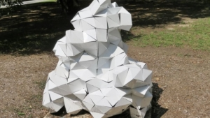 Adela Andea featured at the 5th Annual Heights Blvd. Sculpture Show