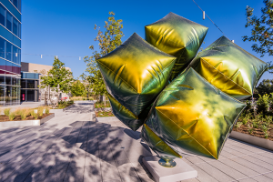 """William Cannings: """"Cubed"""" at the Texas Sculpture Walk in Dallas"""