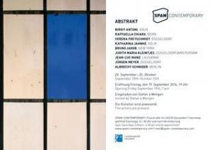 "Albrecht Schnider's work included in ""Abstrakt"" at SPAM CONTEMPORARY"