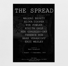 """KEN GONZALES-DAY INCLUDED IN """"THE SPREAD,"""" CURATED BY MARK VERABIOFF"""