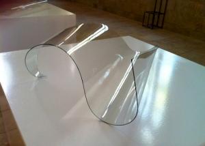 An installation of glass work by Kovachevich on a pedestal