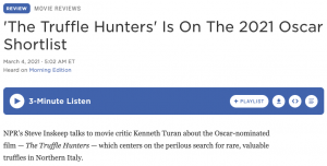 'The Truffle Hunters' Is On The 2021 Oscar Shortlist
