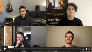 Q&A session between Ren Klyce & The Truffle Hunters Team
