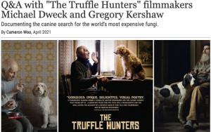 """Q&A with """"The Truffle Hunters"""" filmmakers Michael Dweck and Gregory Kershaw"""