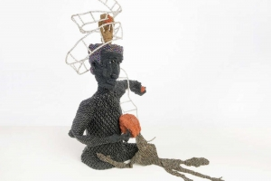 Joyce J. Scott at the Weatherspoon Art Museum, North Carolina