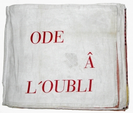 "Louise Bourgeois, ""Ode à l'Oubli"", 2004 on view at the Frances Lehman Loeb Art Center, New York"