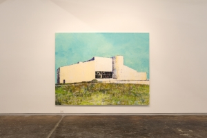 Enoc Perez at the Dallas Contemporary, Texas