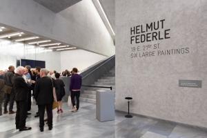 Helmut Federle at Kunstmuseum Basel, Switzerland